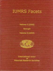 IUMRS Facets - Compendium