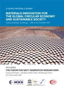 Sixth World Materials Summit and Forum for Next-Generation Researchers (2017)